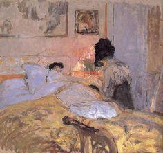 huariqueje:  Nail Beautification Division  -  Edouard Vuillard 1906 Post-impressionism