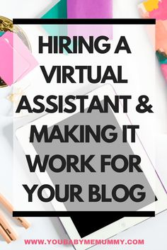 Are you struggling to get things done in your business. You know you need to hire help but are unsure how to make this arrangement work for you? Here are my tips - Hiring A Virtual Assistant & Making It Work For Your Blog