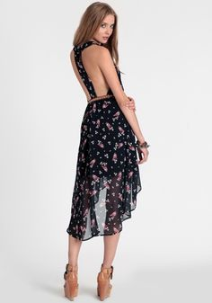 Floating Wings High-Low Dress - $39.00 : ThreadSence, Women's Indie & Bohemian Clothing, Dresses, & Accessories