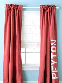 Living Room Decor  :   Illustration   Description   Transform your simple store-bought window treatments with these quick and easy curtain ideas for your home. Make your curtains unique and add your own personal style to them for every room in your home.    - #LivingRoom