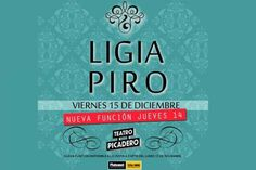 Ligia Piro: nueva función, jueves 14 de diciembre