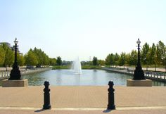 Canal View at New Town, St. Charles