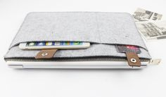 felt Macbook Air 13.3 sleeve Macbook air case Macbook by FeltSJie