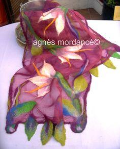 agnès mordancé© créations feutrées paris -PIÈCES UNIQUES / nuno scarf http://www.alittlemarket.com/boutique/agnes_mordance-466335.html