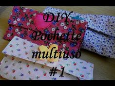DIY - Pochette multiuso #1 (tutorial) - YouTube