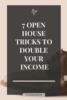 REALTOR open house marketing tips to help you double your income.REALTOR open house marketing tips to help you double your income.