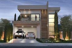 Top 10 Modern house designs – Modern Home Facade House, House Front, Modern House Design, Exterior Design, Future House, Architecture Design, House Plans, New Homes, House Styles