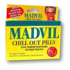 Mighty Meds - Madvil Novelty Item