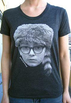 Moonrise Kingdom Sam silkscreen shirt (Wes Anderson)