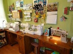 Sewing Room Ideas - Bing images