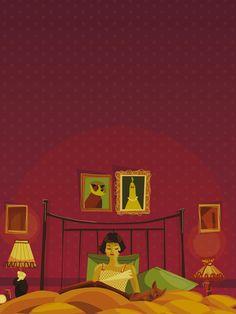 Illustration film Amélie par Viginia Garrido Millan