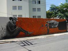 Apolo Torres + Marcio Moreno (Mural SESC santana, são paulo, brasil, março 2014)