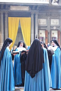 Professed sisters of the Adorers of the Royal Heart of Jesus.