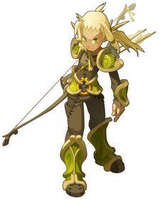 Cras Range Male, Wakfu (male for comparison) #archer