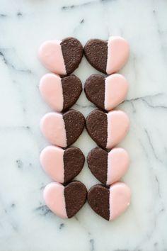 Chocolate Chipotle Shortbread Cookies