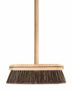 Amazon.com - Wood Horse Hair Broom - 186 - Push Brooms