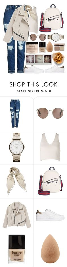 """🐰"" by burcaak ❤ liked on Polyvore featuring Topshop, Linda Farrow, Marc by Marc Jacobs, Elliatt, Hermès, Tommy Hilfiger, adidas Originals, Butter London, beautyblender and Charlotte Tilbury"