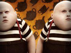 gemelos-de-alicia-en-el-pais-de-las-maravillas