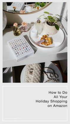 How to do all your holiday shopping on Amazon Your Best Friend, Holiday Gifts, Christmas Holidays, Law, Best Gifts, Table Decorations, Amazon, Shopping, Tips