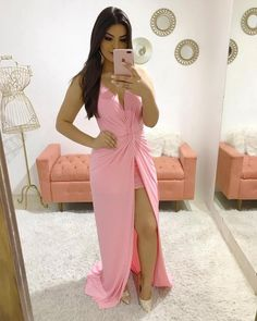 Shop sexy club dresses, jeans, shoes, bodysuits, skirts and more. Prom Dresses Long Pink, Homecoming Dresses, Evening Dresses, Dress Long, Dress Prom, Cute Fashion, Fashion Outfits, Classy Outfits, Dress For You