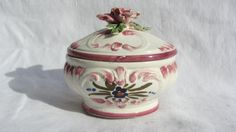Bassano Trinket box. Italian ceramic trinket box. by RoziereBroc