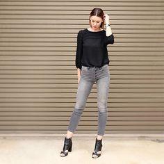 FLEEK #Friday ✔️ #ootd  Top - @loft  Denim - @motherdenim  Shoes - @shopdolcevita  Watch - @hermes  www.boxygirl.com