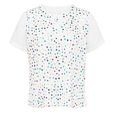 New Arrivals | Rainbow Scattered Sequin Tee #frenchconnectionau #fcuk