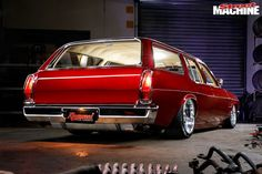 Show-spec custom Holden HQ Kingswood wagon Australian Muscle Cars, Aussie Muscle Cars, American Muscle Cars, Pontiac Gto, Chevrolet Camaro, Mustang Cars, Ford Mustang, Holden Wagon, Holden Australia