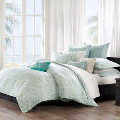Echo Design™ Mykonos Duvet Cover, 100% Cotton - BedBathandBeyond.com