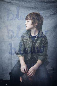 Blue, Tante Ted, 2012, Maria Stijger & Wenda Torenbosch, Blue, boy, blauw, indigo, denim, introvert, subtle.