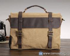 Canvas Messenger Bags for Men School Messenger Bags