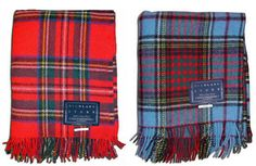 Royal Stewart, Anderson Pendleton blankets