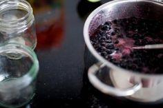 schwarze Johannisbeer Marmelade - Rezept