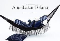 Featured DARA Artisans Exhibition, Aboubakar Fofana - The Indigo Master. Few modern craftsmen have unlocked indigo's potential better than Aboubakar Fofana Heavy And Light, Modern Craftsman, African Fashion, African Style, African Fabric, Shibori, Nike Logo, Indigo, Hand Weaving