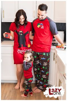 Our Happy Camper Matching Family Pajama set is one of our most popular designs. It is a great family matching set with infant, kids, women, and men's designs for everyone! Plus they are made with 100% combed cotton making them very soft and comfy! Family Pajama Sets, Matching Family Pajamas, Kids Pajamas, Pjs, Men Design, Matching Set, Funny Design, Happy Campers, Breakfast Ideas