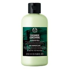 Make Up Kismet: The Body Shop Cucumber Cleansing Milk and Cucumber Freshening Water - Review