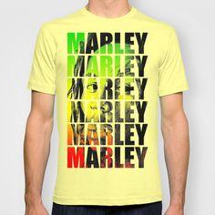 Mr.Marley T-shirt by DeMoose - $22.00 BOB MARLEY