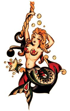 Sailor Jerry, Mermaid & Anchor
