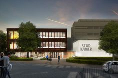 Stadkamer - Zwolle - JHK Architecten