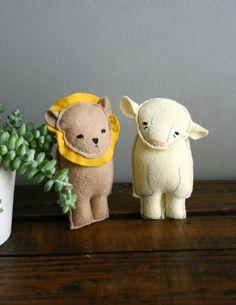 lion + lamb
