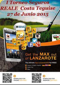 I Torneo Seguros @Reale #CostaTeguise 27.06.2015 | 9.00 h