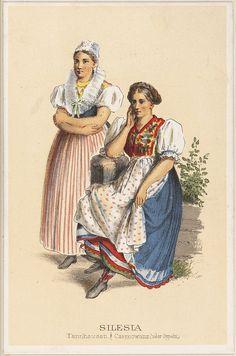 muirgil's dream   German Peasant Costumes - Silesia Tannhausen