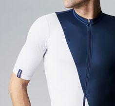 Summer Jersey Asymmetric Blue/White