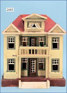 Gottschalk dolls house. Nice style, design and detail. .....Rick Maccione-Dollhouse Builder www.dollhousemansions.com