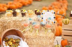 Pumpkin Patch Painting | CatchMyParty.com