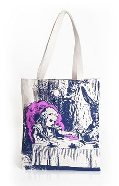 (http://www.anoukanoo.com.au/alice-in-wonderland-tote-bag/)