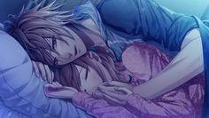 anime girl sleeping in bed - Bing Images