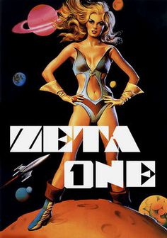 """My new """"Yes, It's a Real Movie!"""" column for Daily Grindhouse looks at the breast-obsessed 1969 sci-fi flick ZETA ONE. Real Movies, Cult Movies, Cinema Posters, Film Posters, Heavy Metal Movie, Pin Up, Sci Fi Comics, Women Poster, Amazon Video"""