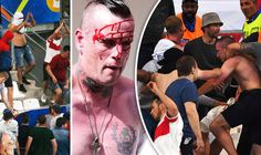 Women children and disabled attacked by violent Russia fans amid useless French security