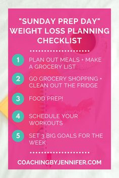 Looking to lose some weight? Planning for success is everything! Check out my top 5 tips for what you should include in your weekly prep list including meal planning, healthy grocery shopping, meal prep, setting goals, and more! Find out how the Well Journal is the perfect tool to help you reach your goals. Healthy Grocery Shopping, Make A Grocery List, Weight Loss Journal, Weight Loss Tips, Food Tracking, Meal Prep Companies, Dentist Appointment, Work Goals, Buddy Workouts